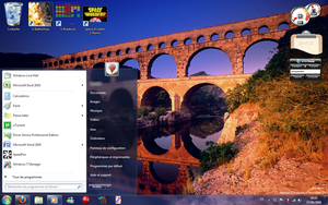 Desktop on Se7en Build 7260 by SpringsTS
