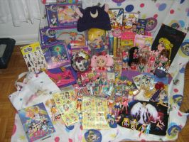 Sailor moon collection-Update by crimson-tiger-flame