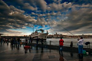istanbul morning II by globalunion