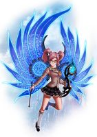 Aion Commission - Elyos Songweaver by rextheone