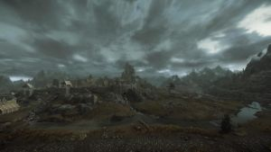 The majesty of Whiterun by lupusmagus