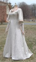 Fantasy Elven Gown by DesignsbyLadyFaire