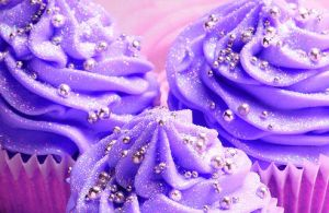 Purple Cupcakes by dearsweetbree