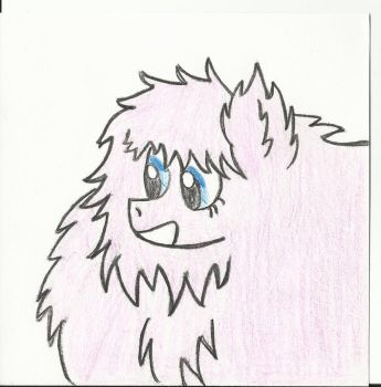 Fluffle Puff- Head shot request by The-rogue-shadow