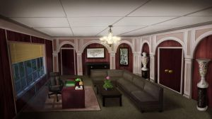 Office Interior by myaeonfluxproject