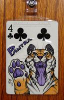 Playing Card Badge: Pantra by FlannMoriath