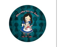 Alice Madness Returns-Button by Shanachie-fey