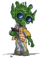 Bounty Hunter - Greedo by aReino