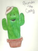 Alejandro the Cactus by TheSimpsonsFanGirl