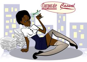 Corporate Casual by Melissasangel