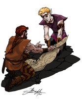Reading the map - colored by Joe-Singleton