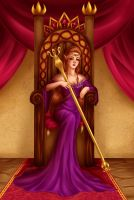 The Queen. by Charlotte-DG