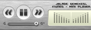 iTunes - Mini Player by Blade-Genexis