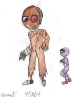 Ghoul meets Cory by werecatkid17