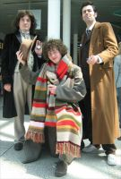 London Expo: The Three Doctors by angelofmusicuk