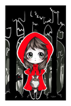 Chibi red riding hood by Nataliadsw