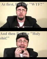 Nostalgia Critic Poster Thing by cusackanne