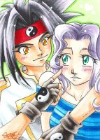 Ray And Ai by CaTai