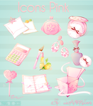 Iconos rosados By ietf4899Love by ietf4899Love