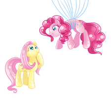 Flying's Fun, Fluttershy! by LethalAuroraMage