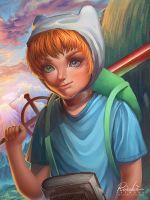 Finn the Human by ReiRobin