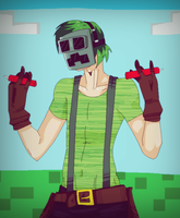 Human Creeper by Punkichi