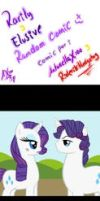 Rarity y Elusive Ramdom comic by AntonellaX100