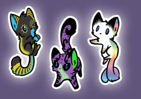 Kitty Adoptables #2! CLOSED by RigazzBerryJello