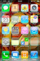 Template iPhone4 wallpaper by Kavel-WB