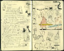 Symposium sketches 2 by MattiasA