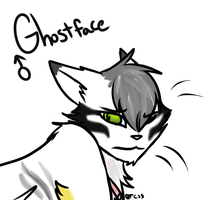 Ghostface Headshot by Tess-Is-Epic