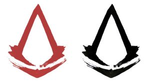 Japanese Style Assassin Creed Logos by ammnra