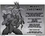 Merry Christmas... Or Krampus.. Whatever by zombiecarter
