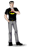 Casual Bruce by izzy1992
