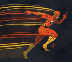 Sketch Dailies: The Flash by tedikuma