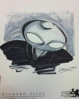 Black Manta Sketch by RichardZajac