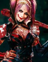Why So Serious? (Harley Quinn) by KarmeticPeace