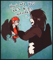 A Confused Father by shorty-antics-27