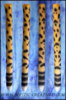 Airbrushed cheetah tail by Mystic-Creatures