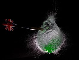 Popping Balloons with Darts by GeorgeAmies
