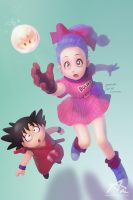 DRAGONBALL FAN by webang111