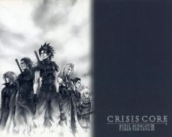 Crisis Core: FFVII by iNeedNoUsername4This