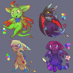 Mispi Adopts! -CLOSED- by Snow-ish