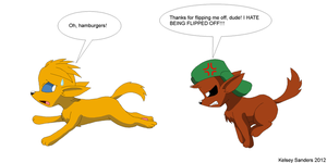 South Park: Kyle Chases Butters by KelseyEdward