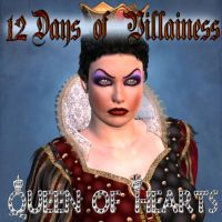 12 Days of Villainess -- Red Queen by mylochka