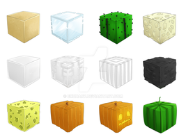 Minecraft Blocks .04 ITS NOT A BLOCK OF COAL by Exunary