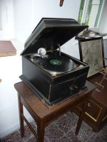 record player by mimose-stock