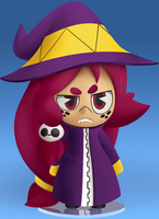 Toy Witch by Coonstito