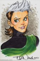 Rogue, 1980's X-Men by ToddNauck