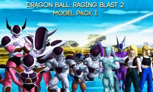 Dragon Ball Raging Blast 2 - Model Pack I by Postmortacum